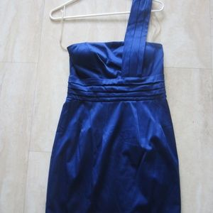 Forever 21 cobalt blue dress